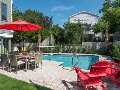 Photo for CAROLINA ELEGANCE; elevator; private pool; sleeps 22; 3 min to beach