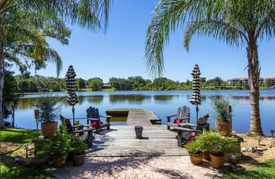 Photo for Winter Park Lakefront Home Built For Relaxation