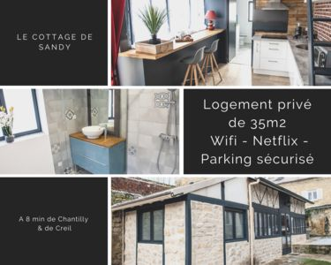 Photo for ❤❤ Charming private cottage 10 minutes from Chantilly ❤❤