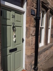 Photo for Location location, a quirky, cosy house in central Wooler, with sunny courtyard.