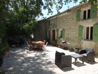 Photo for Les Geckos, large house for rent in the Natural Park of Baronnies Provençales