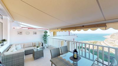 Photo for Gran Canaria / Playa de Amadores / Luxury apartment with stunning sea views