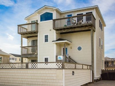 Photo for Sea Spray | 80 ft from the beach | Dog Friendly, Private Pool, Hot Tub