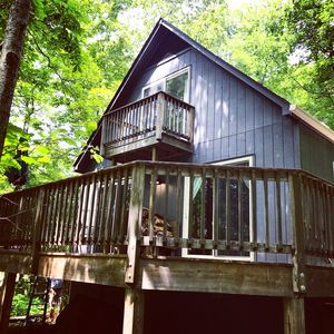 Photo for Cozy Chalet in Great Wintergreen Location--Newly Refurbished with a New Hot Tub!