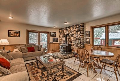 Spectacular days start at this Incline Village vacation rental home.