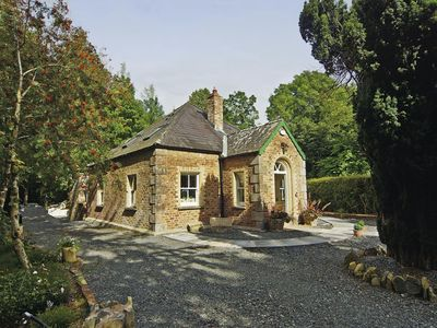 Photo for Delightful detached stone (brick) Gate Lodge, built c 1850 and recently renovated, at the rear…