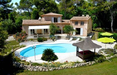 Photo for 170m2 villa with quality services; near Cannes, Antibes, Nice, and 4 golf courses