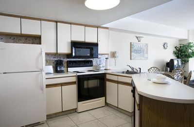 Photo for Stunning Angle Ocean View 2 Bedroom Condo + Official On-Site Rental Privileges