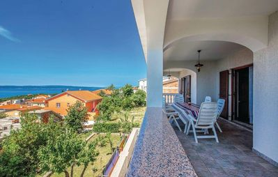 Photo for Three bedroom apartment with terrace and sea view Novi Vinodolski (A-15946-a)