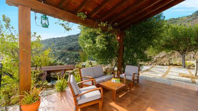 Photo for Holiday home with splendid viewpoints over the Sierra in the province of Malaga