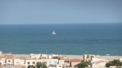 Photo for DUPLEX SWIMMING POOL FULL SIGHT SEA BEACH 300 M INTERNET PARKING HEATING IN QUIET