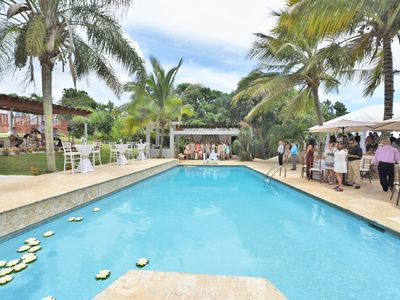 Photo for Vacation and Wedding, Reception Venue Villa - Sleeps 50, pool, hot tub