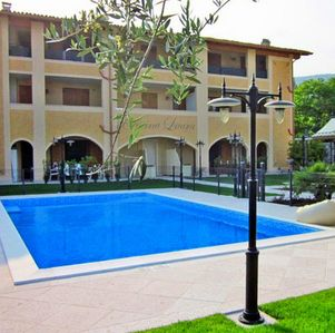 Photo for Spacious apartment with pool near the center of Salo