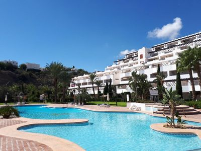 Photo for Two bedroom apartment located in beautiful complex near the sea, Mojacar Playa