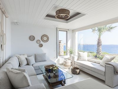 Photo for Amalgam Homes Paros  - Agia Thalassa - Beachfront Private Pool Villa