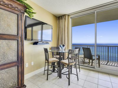 Photo for Ready to hear the beach waves crashing from this 7th floor Gulf front condo?!