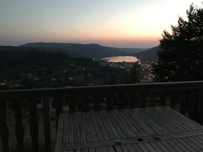 Photo for Chalet Panoramic view of the lake, Quiet and bright