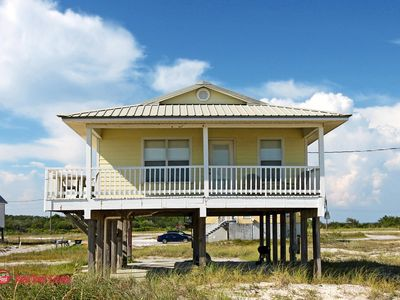 Photo for R & R- Affordable, Cute 2 br Gulf View Home with Unobstructed Gulf Views, Sleeps 8