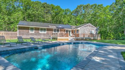 Photo for A Classic Hamptons Retreat in Water Mill w/ Private Pool, Laid-back Living Spaces, Grassy Lawn
