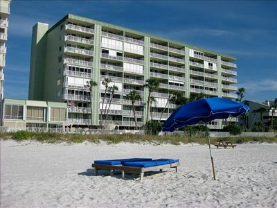 Photo for Redecorated Gulf Front Condo with Beach, Pool and Hot Tub. Includes Free Wi-Fi