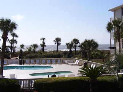 Photo for The Breakers 1st Floor Villa#126 , spectacular view of pool, beach, and ocean