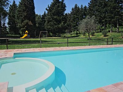 Photo for Large apartment with pool 18 km from the Adriatic Coast - MARGHERITA