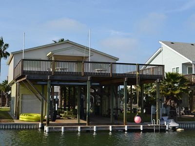 Photo for Dog friendly, new boat lift, FREE Wifi, and kayaks, and SECOND canal from Bay!