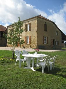 Photo for Large Gascon house beautifully renovated. Quiet, nature and breathtaking views of the countryside!
