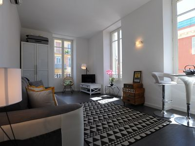 Photo for Beautiful modern studio apartment in the heart of Nice