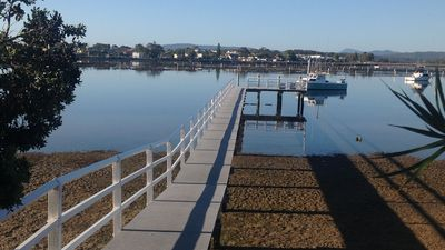 Photo for Waterfront on Merimbula Lake Studio Apartment