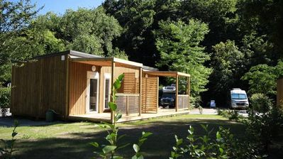 Photo for Nantes Camping ***** - Chalet Petit Ecolier 2 Rooms 2 People