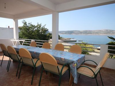 Photo for Four bedroom apartment near beach Seline (Paklenica)
