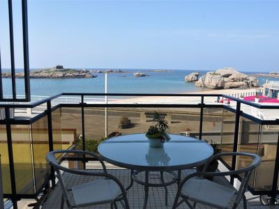 Photo for BEAUTIFUL APARTMENT WITH EXCEPTIONAL VIEW ON SEA in TREGASTEL