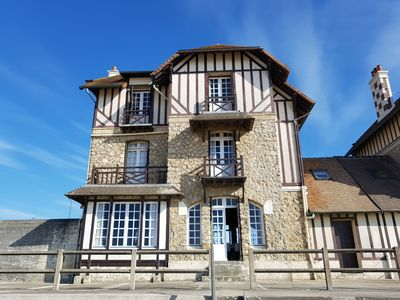 Photo for Near Deauville nice Norman house on the beach, 5 sunny rooms