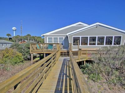Photo for Oceanfront Premier Vacation Home! $250 Beach Gear Credit for 2019 Reservations