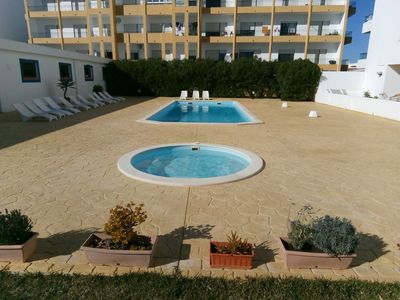 Photo for Apartment With Fantastic Views,Swimming and Spa pool on site included.Internet .