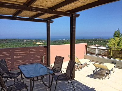 Photo for charming apartment, panoramic terrace without vis-à-vis, sea and mountain view