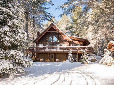 Photo for Adirondack Elegance - Spectacular Lake Placid Village 5 Bedroom Home