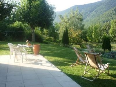 Photo for Nice, quiet and wide house ; rental fitted for large family. Near Ax les thermes
