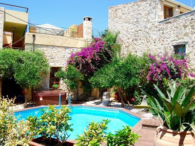 Photo for The Old Olive Mill Maroulas, Maroulas, 3 bedroom  3 Bathroom 14th Century Villa