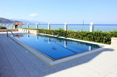 Photo for Waterfront villa with a swimming pool and fantastic sea view