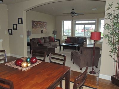 Photo for Just steps away to the Beach with Beach and Ocean views from all 3 levels
