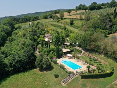 Photo for Villa in countryside with stunning views only 2 klms from flourishing big town.