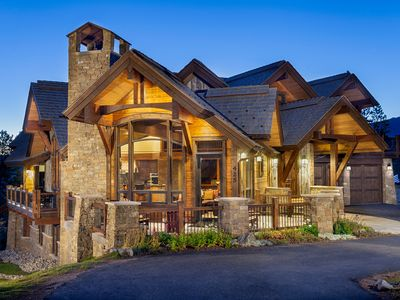 Photo for Magnificent Custom Home Right by the Slopes-Every Amenity Imaginable to Enjoy