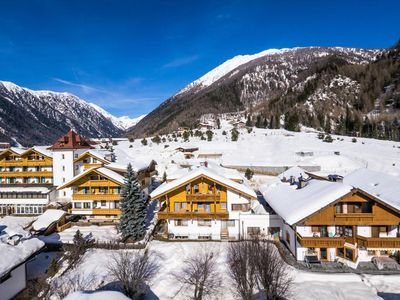 Photo for Wonderful Holiday Apartment 3 in Residence Tauber with Mountain View, Balcony & Wi-Fi; Parking Available