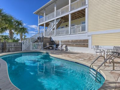 Photo for Gulf Views with a Private Pool & Elevator, Located in the SeaGrass Community