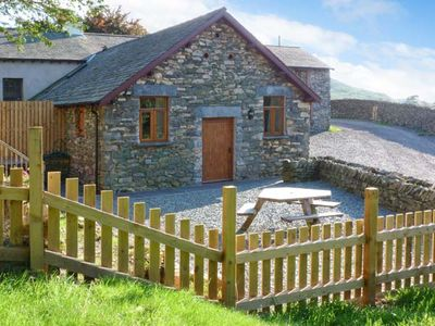 Photo for YEW TREE COTTAGE, pet friendly, with hot tub in Torver, Ref 25868