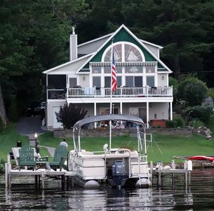 Luxury Waterfront Home with Boat,  Dock Rental, Slip and Beach