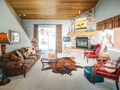 Photo for Firelight Chalet with Hot Tub - On Free Shuttle Route