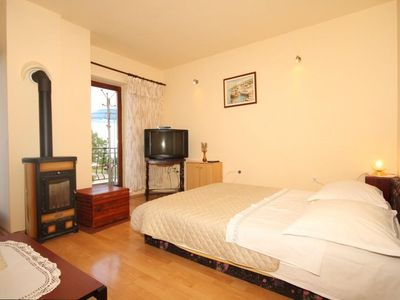 Photo for Two bedroom apartment with terrace and sea view Mošćenice, Opatija (A-7626-b)